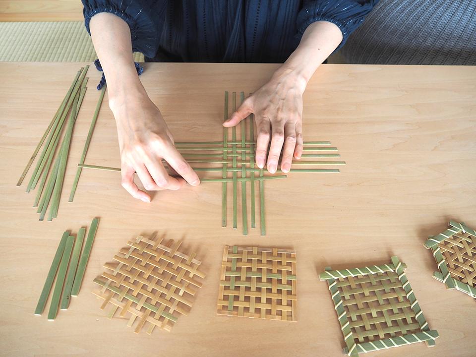 竹コースター