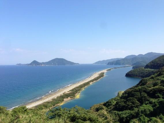 長目の浜(田之尻展望所)