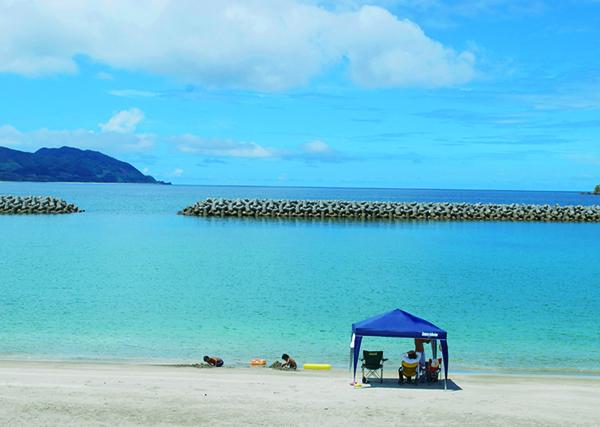 甑島の海イメージ
