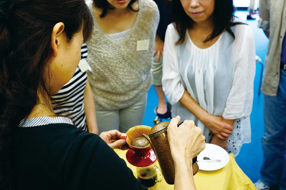 五感で珈琲を楽しむ会