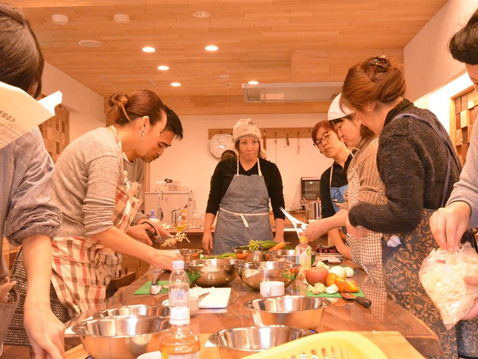 キムチ作り