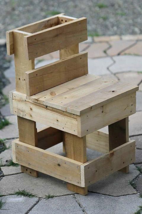 廃材を使用した椅子づくり