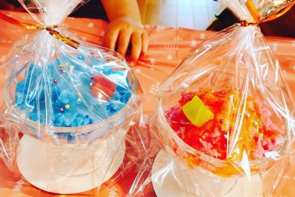 かき氷キャンドル(ラッピング)